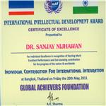 International Intellectual Development Award 2011
